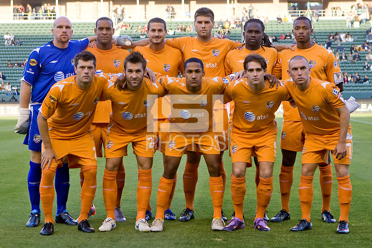 Puerto Rico Islanders Starting Eleven. The Puerto Rico Islanders defeated the LA Galaxy 4-1 during CONCACAF Champions League group play at Home Depot Center stadium in Carson, California on Tuesday July 27, 2010.