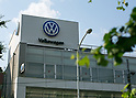 June 15, 2017, Tokyo, Japan - A general view of a Volkswagen dealership in Tokyo, Japan. Volkswagen Group Japan senior executive Thomas Siebert was arrested for alleged illegal drug use after the German national tested postive following a drug test. (Photo by AFLO)