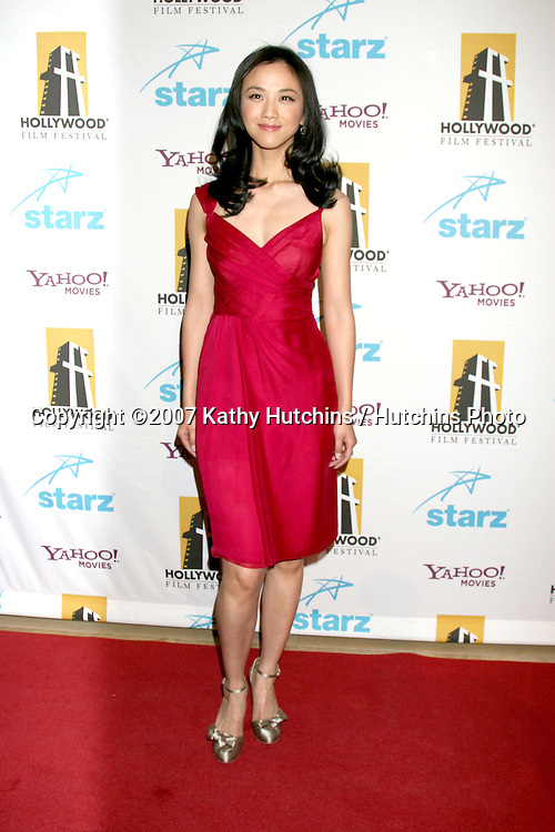 Wei Tang.Hollywood Film Festival 11th Annual Hollywood Awards Gala.Beverly Hilton Hotel.Beverly Hills,  CA.October 22, 2007.©2007 Kathy Hutchins / Hutchins Photo...               .