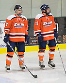 Ian Flanagan (Salem State - 14), Giancarlo Capodanno, Jr. (Salem State - 13) - The visiting Salem State University Vikings defeated the Plymouth State University Panthers 5-2 on Thursday, November 18, 2010, at Hanaway Rink in Plymouth, New Hampshire.