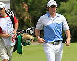 Rory McIlroy (N.IRL) walks off the 16th green during Day 1 of the Volvo World Match Play Championship in Finca Cortesin, Casares, Spain, 19th May 2011. (Photo Eoin Clarke/Golffile 2011)