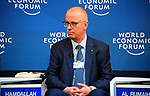 Palestinian Prime Minister Rami Hamdallah attends a panel session of the 49th annual meeting of the World Economic Forum, WEF, in Davos, Switzerland, 22 January 2019. The meeting brings together entrepreneurs, scientists, corporate and political leaders in Davos under the topic 'Globalization 4.0' from 22 - 25 January 2019. Photo by Prime Minister Office