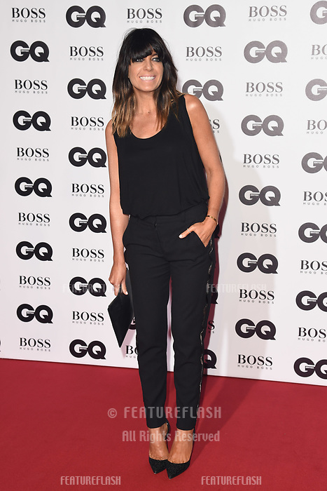 LONDON, UK. September 05, 2018: Claudia Winkleman at the GQ Men of the Year Awards 2018 at the Tate Modern, London