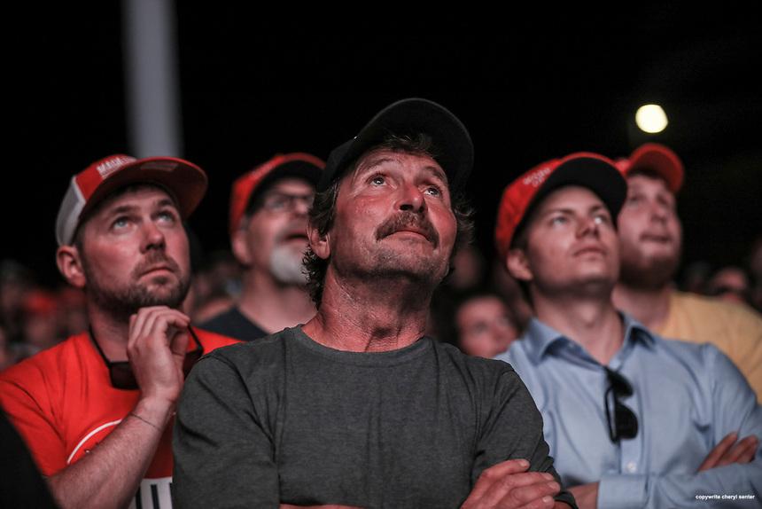 Trump Rally DieHards