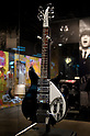 SAITAMA - DEC. 5: One of John Lennon's 'Rickenbacker' guitars: the John Lennon Museum. (Photo by Alfie Goodrich/Nippon News)