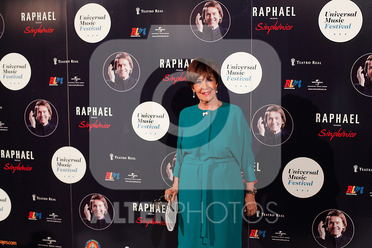 Photocall concierto Raphael en Palacio Real en Madrid, Spain. July 22, 2015. (ALTERPHOTOS/Victor Blanco)