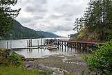 CANADA, Vancouver, British Columbia, Gambier Island, in the Howe Sound