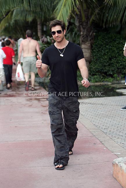 WWW.ACEPIXS.COM . . . . . ....January 1 2008, Miami, FL....Actor Dylan McDermott taking a stroll along South Beach in Miami, Florida....Please byline: DAVID MURPHY - ACEPIXS.COM.. . . . . . ..Ace Pictures, Inc:  ..(646) 769 0430..e-mail: info@acepixs.com..web: http://www.acepixs.com