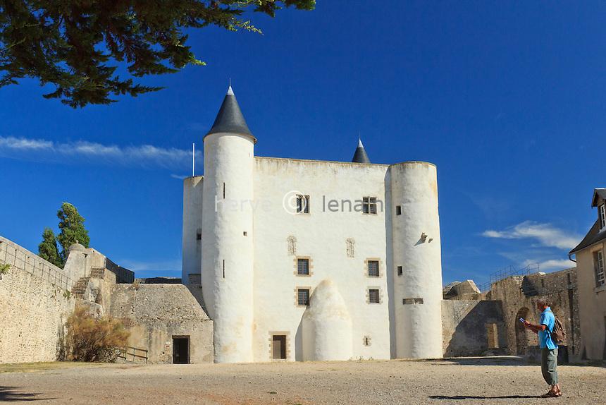 France, Vendée (85), île de Noirmoutier, Noirmoutier-en-lÎle, le château // France, Vendee, Island of Noirmoutier, Noirmoutier en lIle, the castle