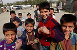 Kabul, Afghanistan; October 21, 2002 -- Boys, children on the street; people, portrait -- Photo: © HorstWagner.eu