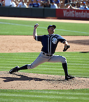 Casey Janssen - San Diego Padres 2016 spring training (Bill Mitchell)