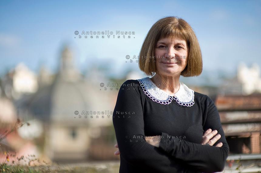 Roma, 1 Febbraio, 2013. La scrittrice SpagnolaAlicia Giménez Bartlett .