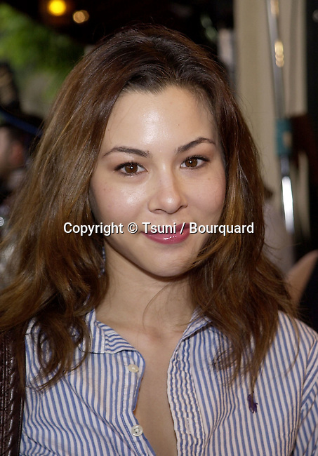 China Chow arriving at the premiere of Final Fantasy: The Spirits Within at the Bruin Theatre in Los Angeles. Final Fantasy is a computer graphic animation. July 2, 2001 ChowChina05.jpg