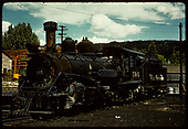 D&amp;RGW #464 K-27 - Durango.<br /> D&amp;RGW  Durango, CO