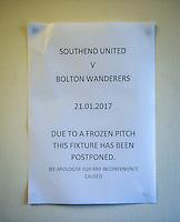 170121 Southend United v Bolton Wanderers