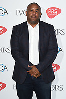 Wayne Hector<br /> at The Ivor Novello Awards 2017, Grosvenor House Hotel, London. <br /> <br /> <br /> ©Ash Knotek  D3267  18/05/2017