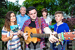 Musician and songwriter Tom Lucey launched his new CD Untold Stories with a concert in the Gleneagle Hotel on Friday evening,  Tom Lucey with his family l-r: Anne, Danny, Tom. Joan and Donal Lucey