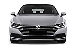 Car photography straight front view of a 2018 Volkswagen Arteon Elegance 5 Door Hatchback Front View
