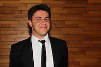 SAO PAULO, SP, 06 DE MARCO 2012. FESTA GRADE DE PROGRAMACAO 2012 TV BANDEIRANTES. O apresentador Oscar Filho, na festa de apresentacao da programacao 2012 da TV Bandeirantes, realizada no Cinemark do Shopping Iguatemi, no bairro de Pinheiros, regiao oeste de SP, na noite desta terca-feira, 06. (FOTO: MILENE CARDOSO - BRAZIL PHOTO PRESS)
