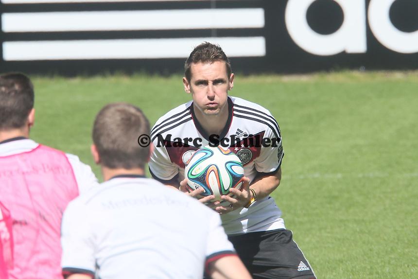 Miroslav Klose - Training der Deutschen Nationalmannschaft  zur WM-Vorbereitung in St. Martin