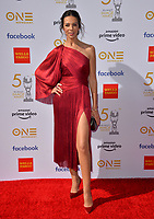 LOS ANGELES, CA. March 30, 2019: Terri Seymour at the 50th NAACP Image Awards.<br /> Picture: Paul Smith/Featureflash
