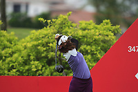 Atthaya Thitikul (AM)(THA) in action on the 6th during Round 2 of the HSBC Womens Champions 2018 at Sentosa Golf Club on the Friday 2nd March 2018.<br /> Picture:  Thos Caffrey / www.golffile.ie<br /> <br /> All photo usage must carry mandatory copyright credit (&copy; Golffile | Thos Caffrey)