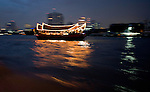 Ferry Boat on the River Mae Nam Chao Phraya, Bangkok, Thailand..Copyright: Helen Atkinson 2008 +447976265253