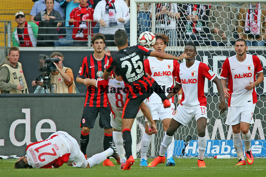 Slobodan Medojevic (Eintracht) - Eintracht Frankfurt vs. FC Augsburg, Commerzbank Arena