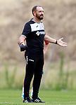 Getafe CF's coach Jose Bordalas during training session. August 1,2017.(ALTERPHOTOS/Acero)