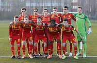 2014.03.12 U16 Belgium - Slovakia