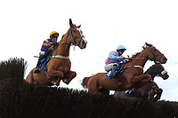 Winner of The Weatherbys Racing Bank Silver Buck Handicap Chase Copperhead (l) ridden by Robbie Power and trained by Colin Tizzard  during Horse Racing at Wincanton Racecourse on 5th December 2019