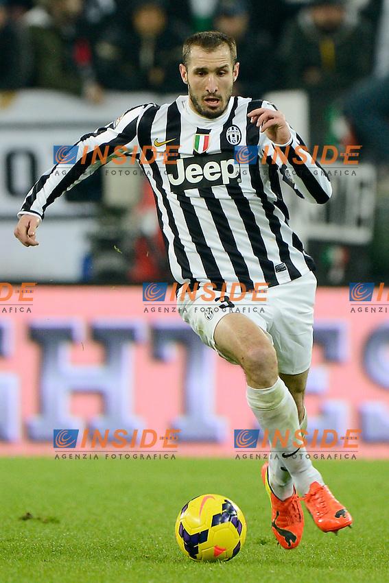 Giorgio Chiellini Juventus<br /> Torino 02-02-2014 Juventus Stadium - Football 2013/2014 Serie A. Juventus - Inter Foto Giuseppe Celeste / Insidefoto