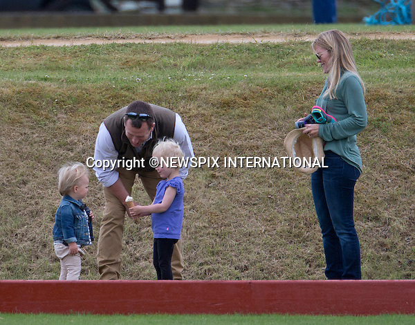 14.06.2015;London, UK: PRINCE GEORGE HAS FUN AT POLO<br />