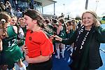 St Cuthberts celebrate. Federation Cup Final, St Cuthbert's v Christchurch Girls High. Federation Cup Hockey Finals, Lloyd Elsmore Park, Auckland, New Zealand, Saturday September 2019. Photo: Simon Watts/www.bwmedia.co.nz/HockeyNZ