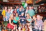 70th Birthday: Martin Hickey, Listowel celebrating his 70th birthday with friends at The Mermaids Bar, Listowel on Friday night last.