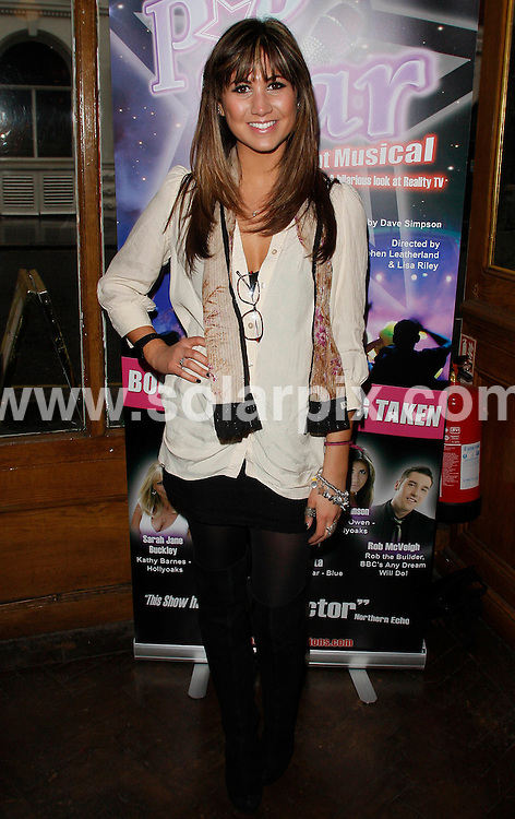 "**ALL ROUND PICTURES FROM SOLARPIX.COM**.**WORLDWIDE SYNDICATION RIGHTS**.""Pop Star The Musical"" photocall at PJ's Bar & Grill, Wellington Street, Covent Garden, London ..This pic: Ciara Janson..JOB REF: 10940      LNJ    DATE:19.03.2010.**MUST CREDIT SOLARPIX.COM OR DOUBLE FEE WILL BE CHARGED**.**MUST NOTIFY SOLARPIX OF ONLINE USAGE**.**CALL US ON: +34 952 811 768 or LOW RATE FROM UK 0844 617 7637**"
