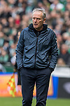 13.04.2019, Weserstadion, Bremen, GER, 1.FBL, Werder Bremen vs SC Freiburg<br /> <br /> DFL REGULATIONS PROHIBIT ANY USE OF PHOTOGRAPHS AS IMAGE SEQUENCES AND/OR QUASI-VIDEO.<br /> <br /> im Bild / picture shows<br /> Christian Streich (Trainer SC Freiburg), <br /> <br /> Foto &copy; nordphoto / Ewert
