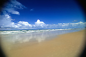 Bahia, Brazil. Sandy beach; Costa do Sauipe.