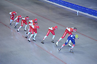 SCHAATSEN: IJSTADION THIALF: 10-06-2013, Zomerijs training Team Corendon,