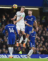 Gary Cahill of Chelsea and Alexander Sorloth of Palace <br /> Londra 10-03-2018 Premier League <br /> Chelsea - Crystal Palace<br /> Foto PHC Images / Panoramic / Insidefoto <br /> ITALY ONLY