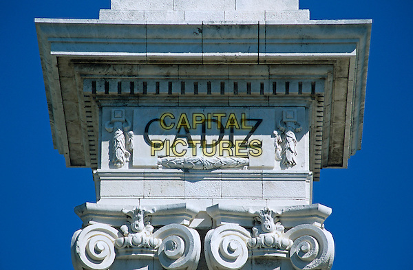 Part of Monument dedicated to Cortes of Cadiz of 1812, Cadiz Parliament, Plaza de Espana, Cadiz, Spain
