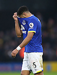 Everton's Ashley Williams looks on dejected at the final whistle during the Premier League match at Vicarage Road Stadium, London. Picture date December 10th, 2016 Pic David Klein/Sportimage