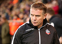 Bolton Wanderers manager Phil Parkinson  looks on before kick off<br /> <br /> Photographer David Shipman/CameraSport<br /> <br /> The EFL Sky Bet Championship - Norwich City v Bolton Wanderers - Saturday 8th December 2018 - Carrow Road - Norwich<br /> <br /> World Copyright &copy; 2018 CameraSport. All rights reserved. 43 Linden Ave. Countesthorpe. Leicester. England. LE8 5PG - Tel: +44 (0) 116 277 4147 - admin@camerasport.com - www.camerasport.com
