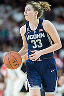College Park, MD - DEC 29, 2016: Connecticut Huskies guard/forward Katie Lou Samuelson (33) in action during the game between No. 1 UConn and the No. 3 Terrapins at the XFINITY Center in College Park, MD. UConn defeated Maryland 87-81. (Photo by Phil Peters/Media Images International)
