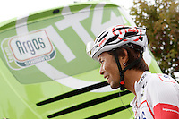 Yukihiro Doi before the stage of La Vuelta 2012 beetwen Santander-Fuente De.September 5,2012. (ALTERPHOTOS/Acero) /NortePhoto.com<br /> <br /> **CREDITO*OBLIGATORIO** *No*Venta*A*Terceros*<br /> *No*Sale*So*third* ***No*Se*Permite*Hacer Archivo***No*Sale*So*third