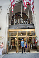 The Lord & Taylor flagship store on Fifth Avenue in New York on Friday, June 28, 2013. Hudson's Bay, a Canadian department store operator and also the owner of Lord & Taylor is reported to be interested in buying Saks, primarily for its real estate.(© Richard B. Levine)