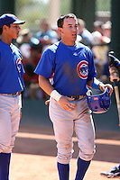 Logan Watkins - Chicago Cubs - 2010 Instructional League.Photo by:  Bill Mitchell/Four Seam Images..