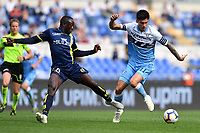 Assane Diousse of AC Chievo Verona and Joaquin Correa of Lazio compete for the ball during the Serie A 2018/2019 football match between SS Lazio and AC Chievo Verona at stadio Olimpico, Roma, April, 20, 2019 <br /> Photo Antonietta Baldassarre / Insidefoto