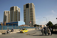 Uptwins apartment complex in Soganlik, a suburb of Istanbul, Turkey