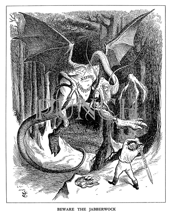 Beware the Jabberwock